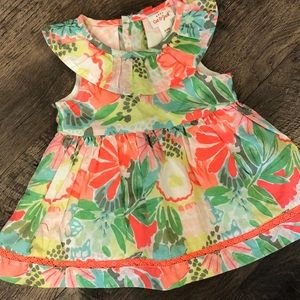 Tropical Cat and Jack Dress